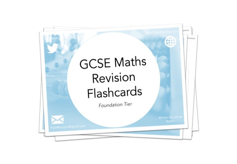 (9-1) GCSE Maths (Foundation) Revision Flashcards