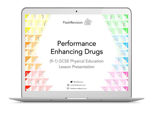 (9-1) GCSE PE; Performance Enhancing Drugs Lesson Presentation (PPT)