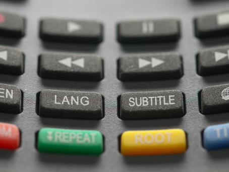 Are subtitles the way forward?