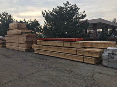 I-Joist job pack ready for delivery!