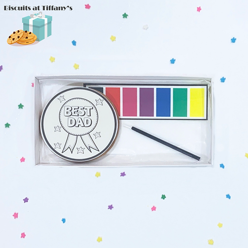 Father's Day Paint Your Own Cookie