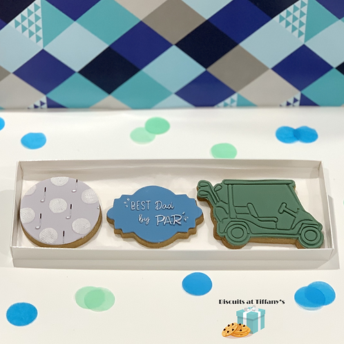 """Father's Day Cookie Gift box """"Best by PAR"""""""