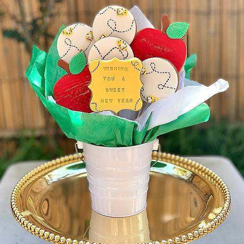 Rosh Hashana Cookie Bouquet