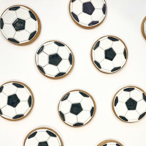 Soccer Ball Cookies - x10