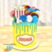 Circus Candy Cake