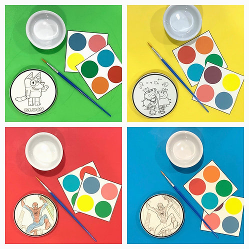 Paint your own Cookie Pack - Pack 2