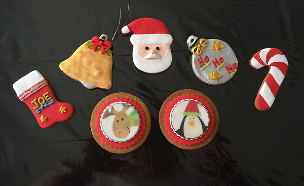 Christmas Biscuits Custom Iced Biscuits and Cupcakes Melbourne
