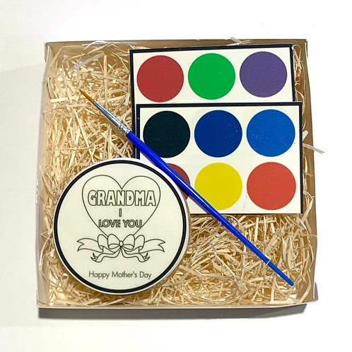Mother's Day (Grandma) Paint Your Own Cookie Pack - Single