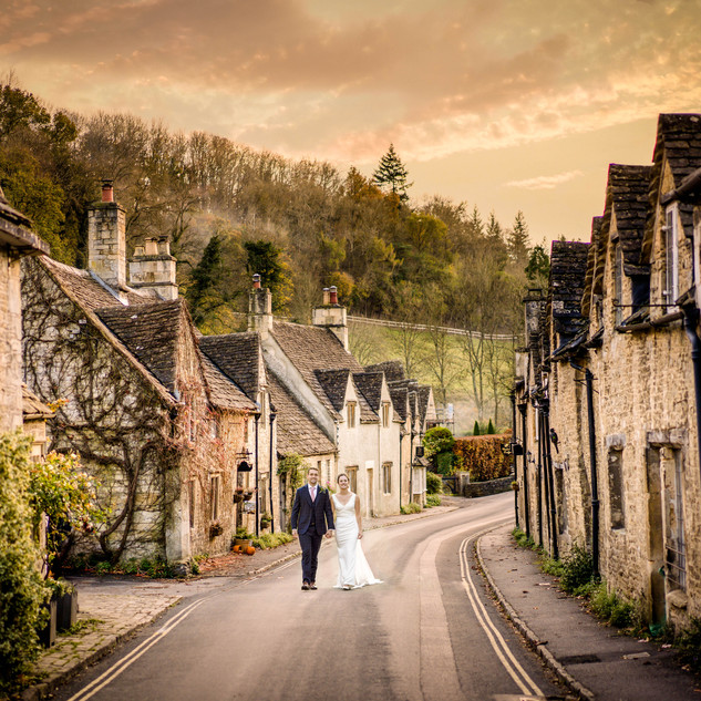 Wedding Castle Combe