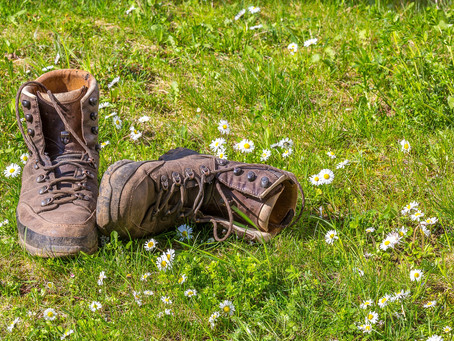 These boots are made for walking…