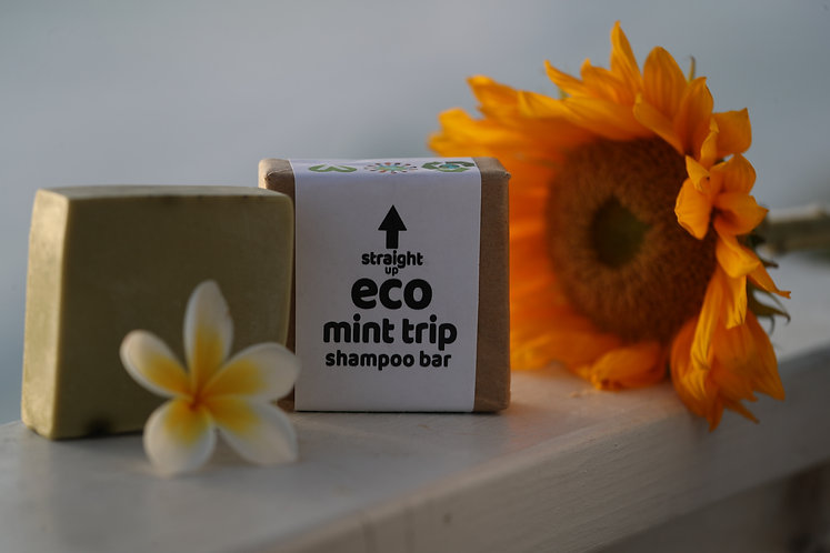 MINT TRIP SHAMPOO BAR (PEPPERMINT/EUCALYPTUS)141.7g (5oz)
