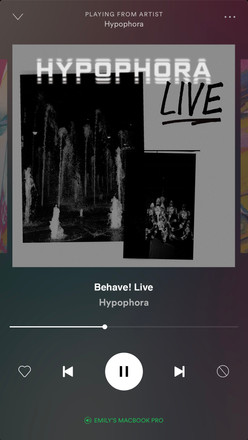 iPhone Spotify mock up