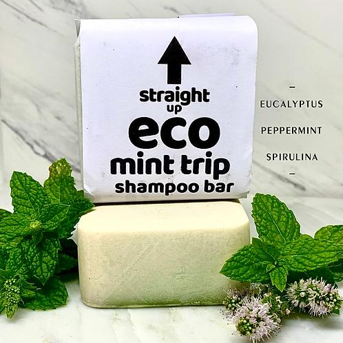 MINT TRIP SHAMPOO BAR (PEPPERMINT/EUCALYPTUS)141.7g (5oz)