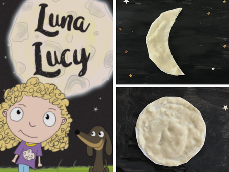 Luna Lucy Moon Craft Activity
