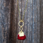 I Love Oregon Brass Necklace @ Wonderful PDX Jewely and Gifts, Portland, OR