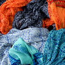 Hand Printed Scarves From India @ Wonderful PDX Jewely and Gifts, Portland, OR