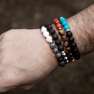 Beaded Bracelets for Men @ Wonderful PDX Jewely and Gifts, Portland, OR