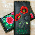 Vegan Wallets @ Wonderful PDX Jewely and Gifts, Portland, OR