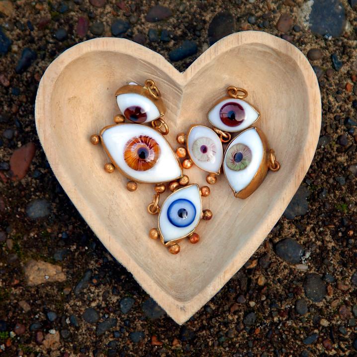 Glass Eye Pendants @ Wonderful PDX Jewelry and Gifts