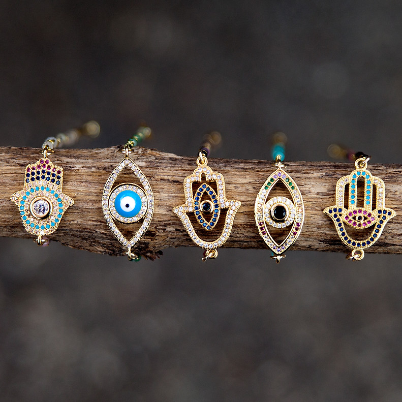 Evil Eye and Hamsa Bracelets @ Wonderful PDX Jewelry and Gifts