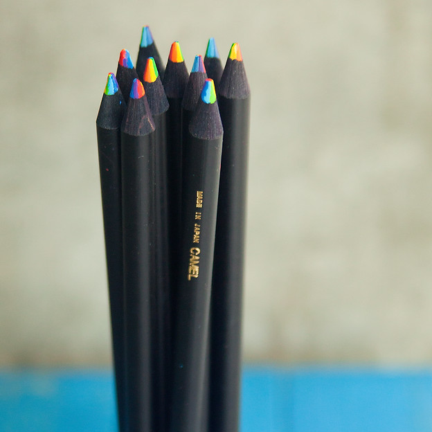 Rainbow Pencils @ Wonderful PDX Jewelry and Gifts