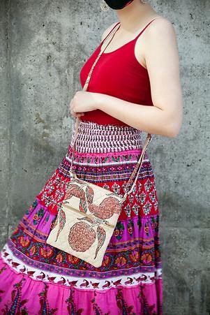 Kalamkari Cross Body Bags @ Wonderful PDX Jewelry and Gifts