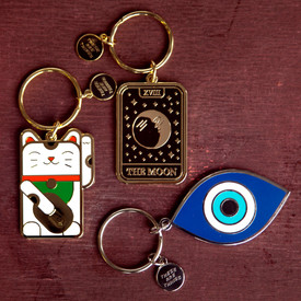 Whisical Key Chains @ Wonderful PDX Jewely and Gifts, Portland, OR