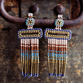 Beaded Earrings From Guatemala @ Wonderful PDX Jewely and Gifts, Portland, OR