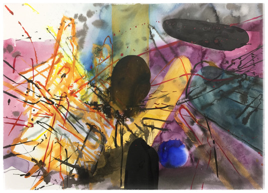 Series#3 72cm x 100cm watercolor