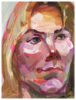 Katherine 28cm x 22cm acrylic