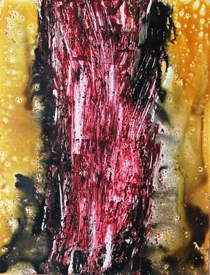 Series #2 90cm x 70cm oil and acrylic