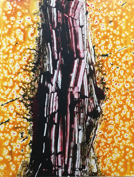 Series #3 90cm x 70cm oil and acrylic
