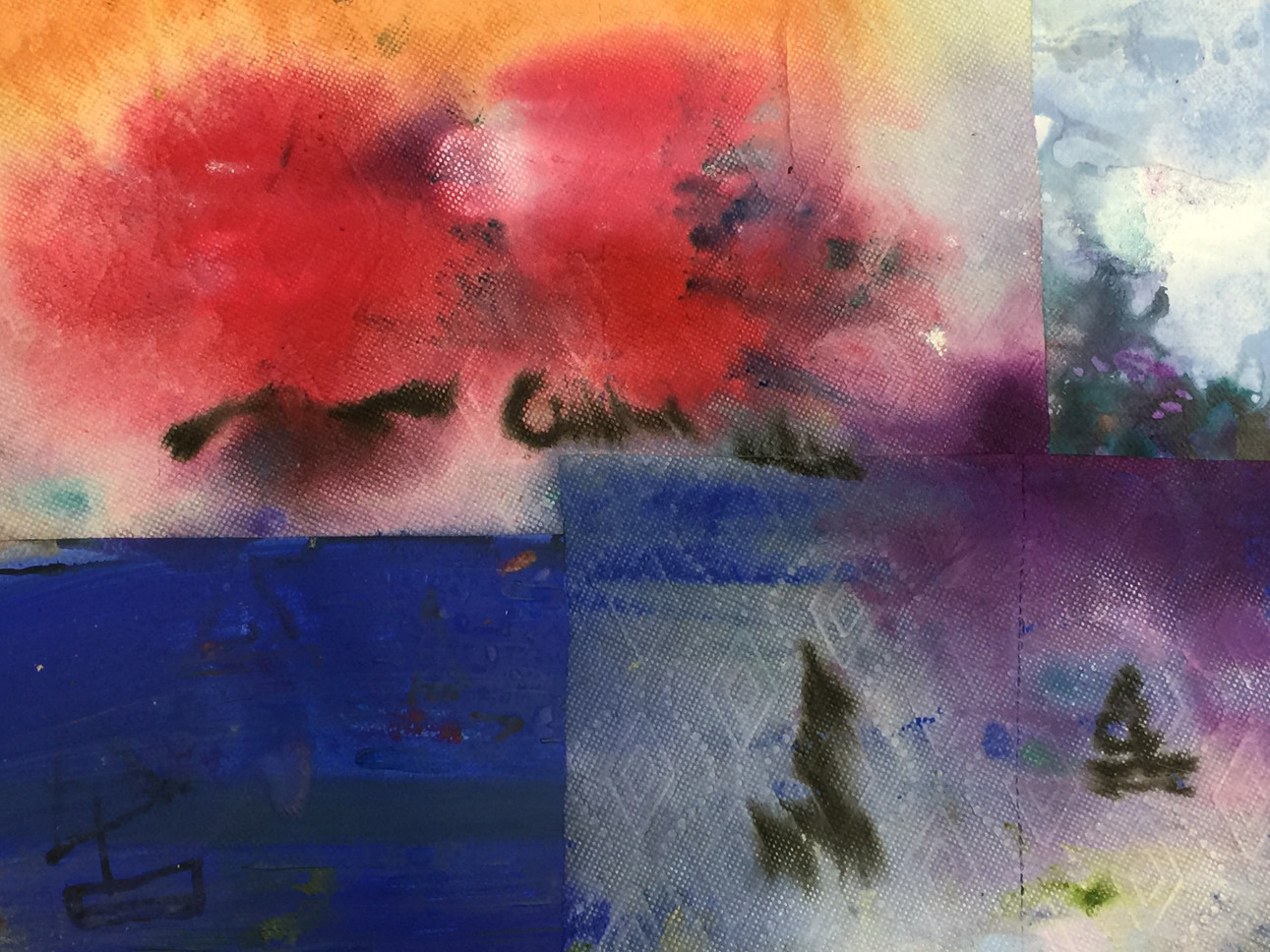 series#5 33cm x 56cm watercolor