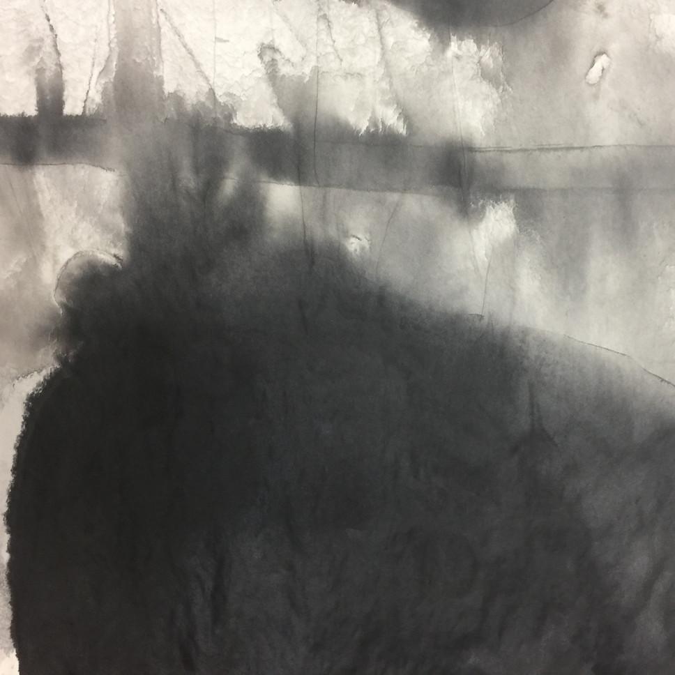 series #9 60cm x 60cm ink on paper