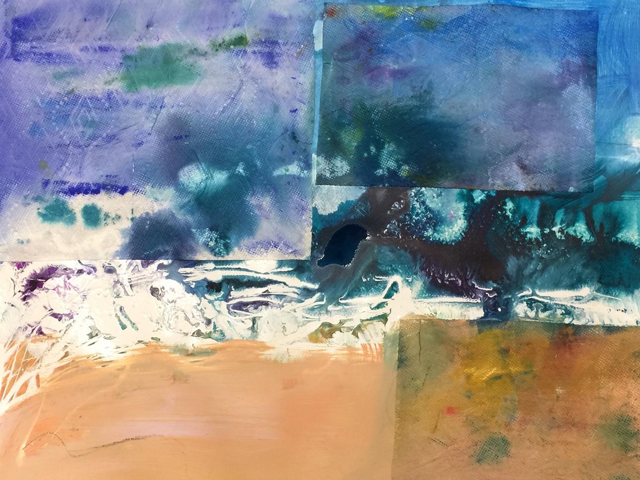 series#4 33cm x 56cm watercolor