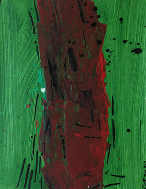Series #5 90cm x 70cm oil and acrylic