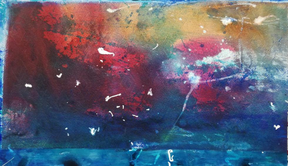 series#7 33cm x 56cm watercolor
