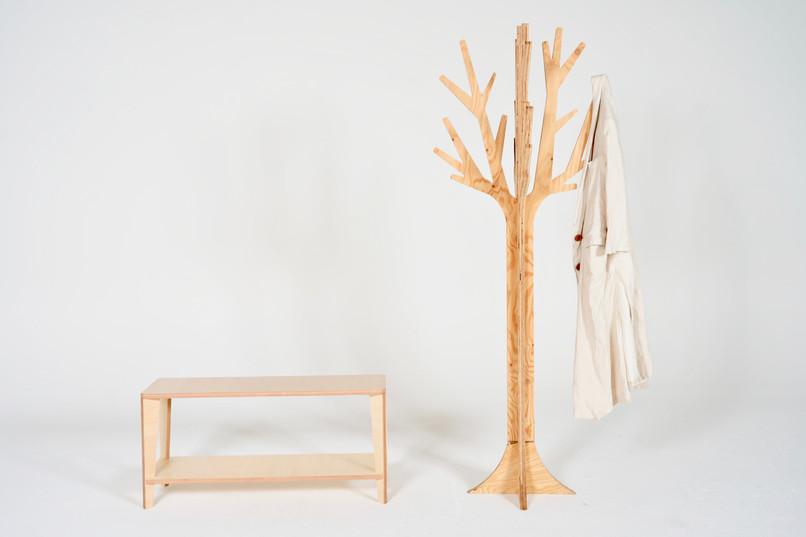Coat hanger1&bench