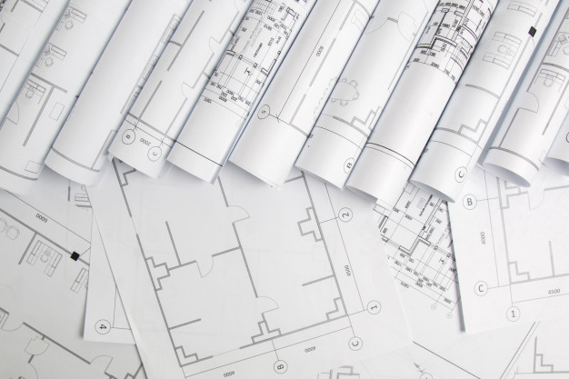 paper-architectural-drawings-blueprint-e