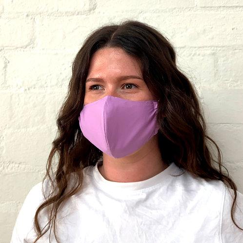 2 Layer Reusable Face Mask - Lilac