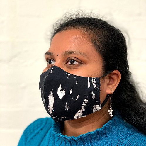 Second Stitch X Souvenir Society - Reclaimed Fabric Face Masks