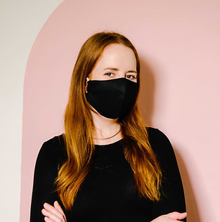2 Layer Reusable Face Mask - Solid Colours