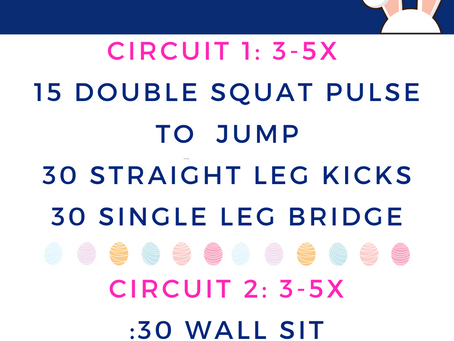 Hoppy Easter Workout