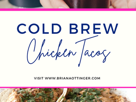 Cold Brew Marinated Chicken Tacos