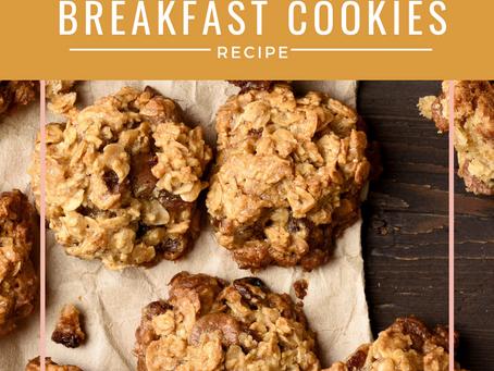 Banana Bread Breakfast Cookie Recipe