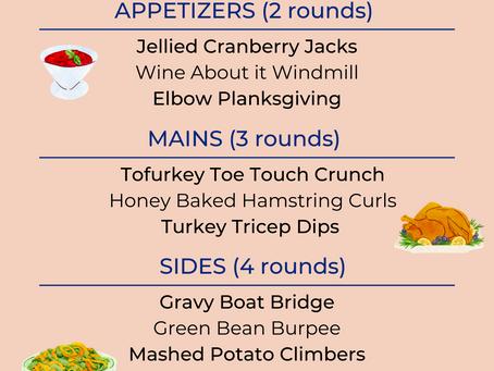 Thanksgiving Turkey Tabata Workout