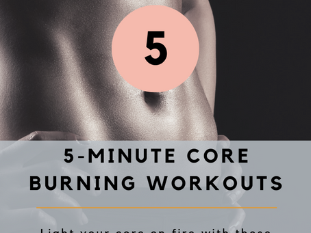 5 Minute Core Workouts