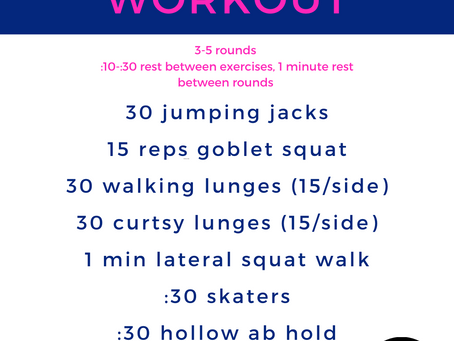 Wonder Woman Inspired Workout