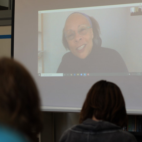 Skype Visit with Author Jewell Parker Rhodes
