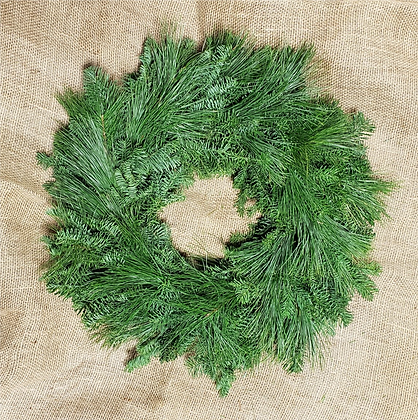 White Pine/Frasier Fir Wreaths: Choose your size